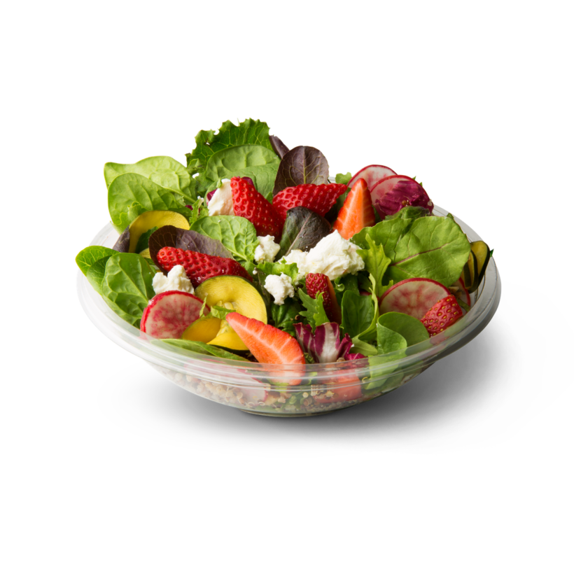 Spinach Salad with Fresh Raspberry Vinaigrette